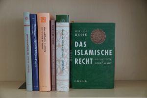 aufgestellte Buchreihe von EZIRE-Publikationen
